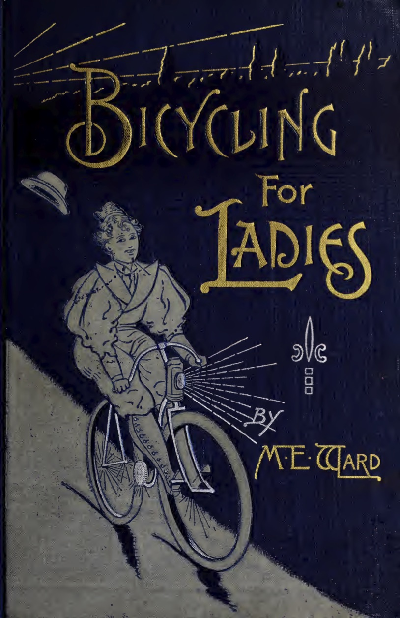 Bicycling for ladies suffrage