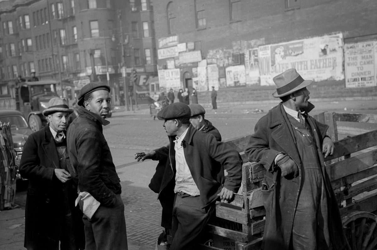South Side of Chicago 1940s