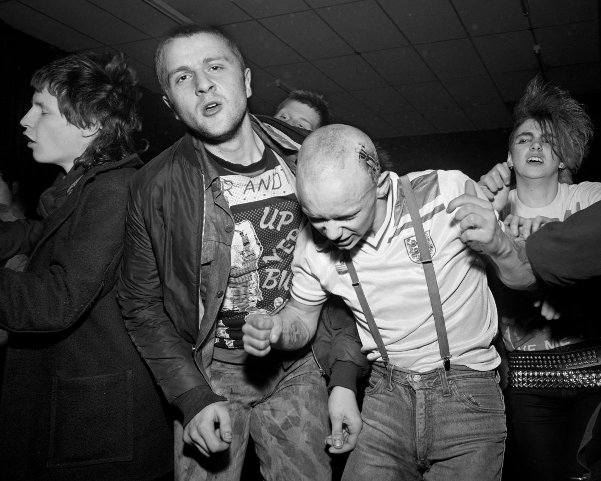 Newcastle punks England