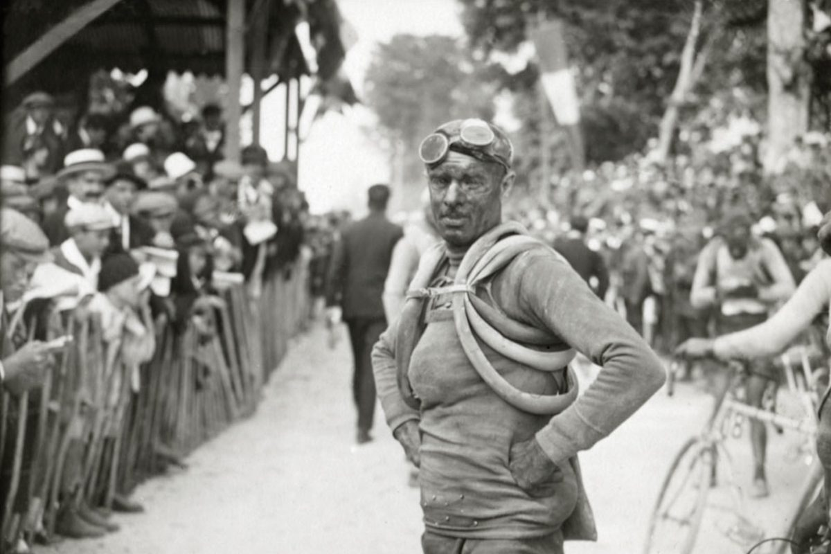 Léon Despontin, Stage 2 of the 1925 Tour de France