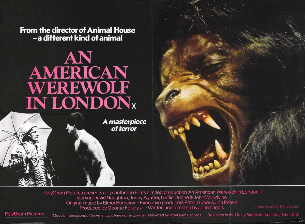 American Werewolf in London, John Landis, horror, film