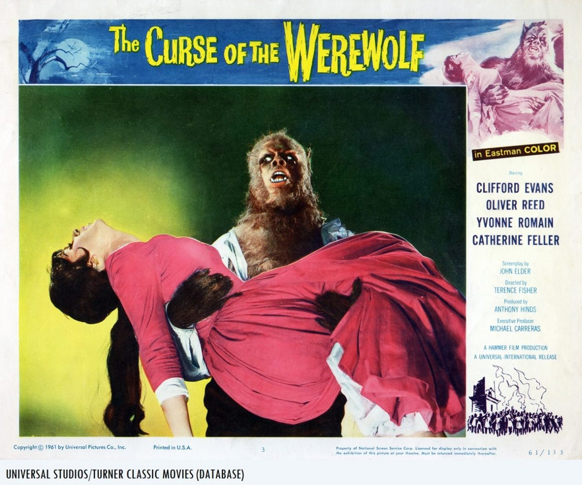 Curse of the Werewolf, Oliver Reed, Hammer, horror, film
