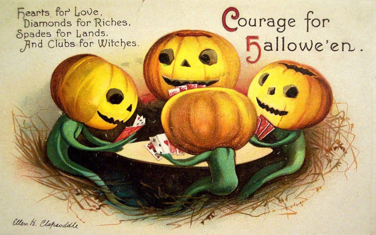 Halloween, greeting cards, Jack-O-Lantern, illustration