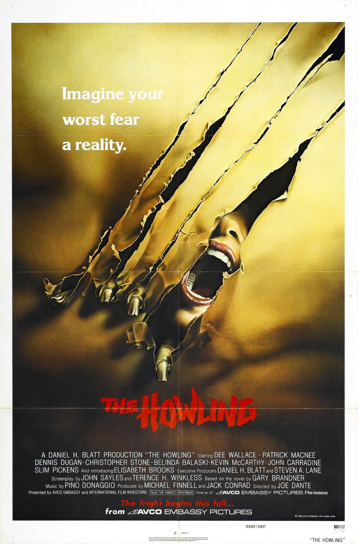 The Howling, film, horror, Joe Dante