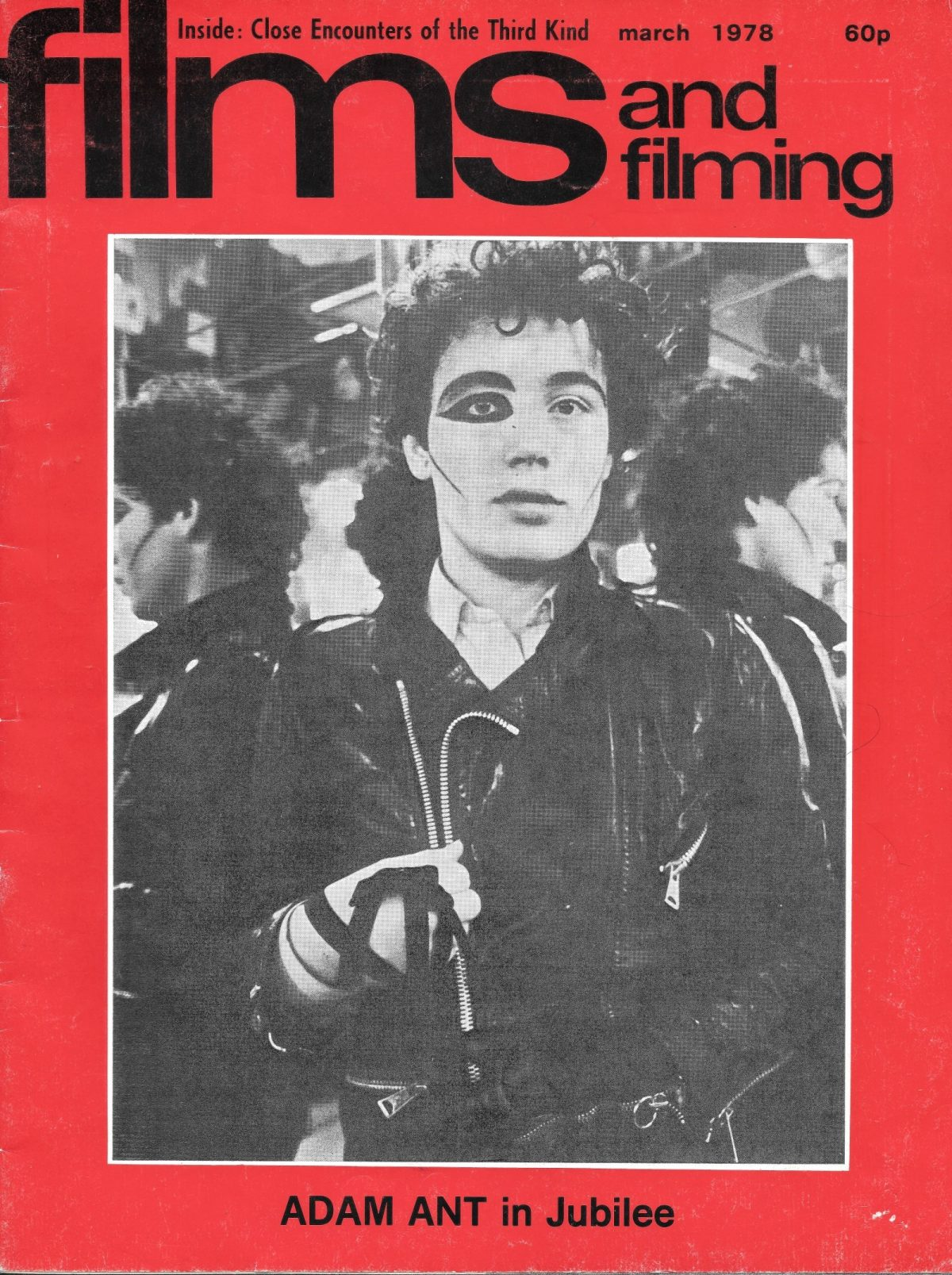 Derek Jarman, Adam Ant, Jubilee, Films and Filming, movies