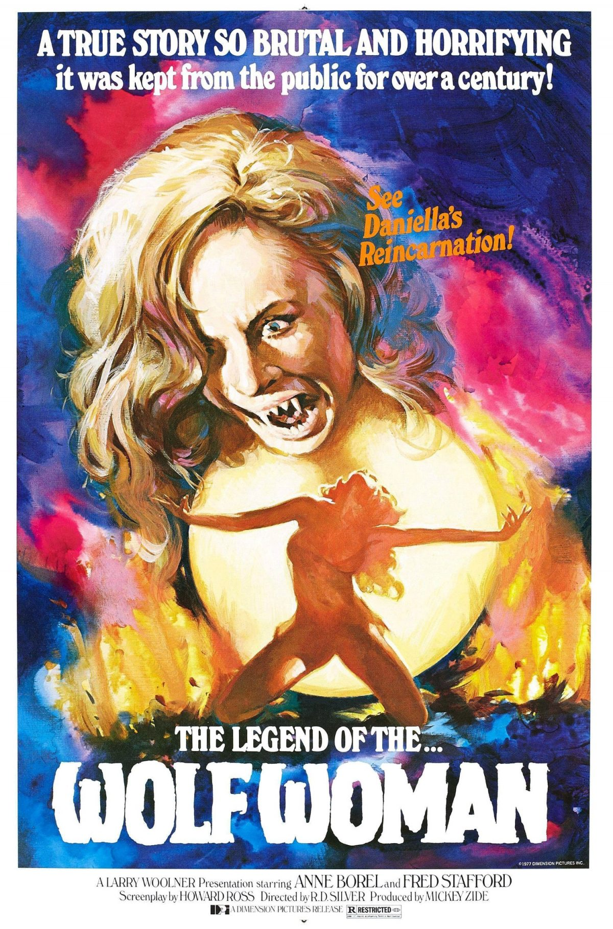 The Legend of the Wolf Woman, film, horror