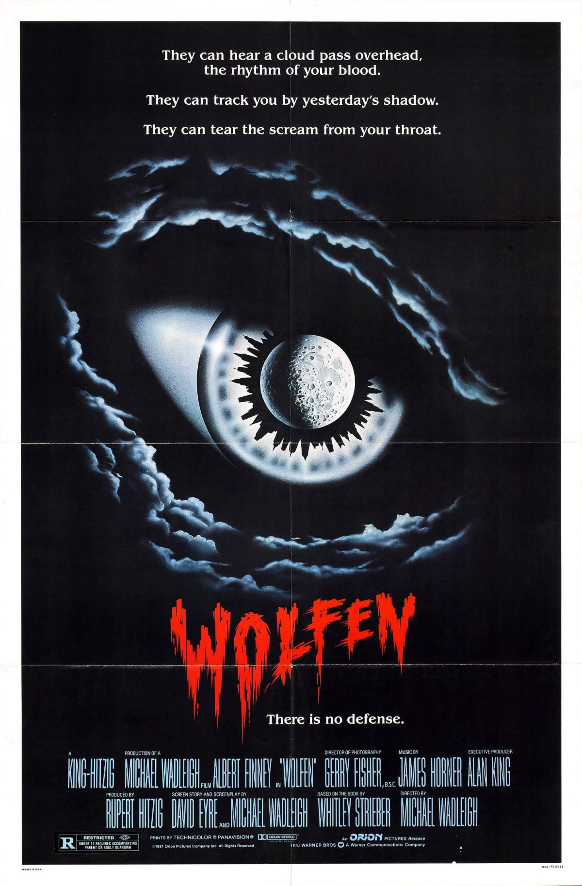 Wolfen, Albert Finney, film, horror, 1981