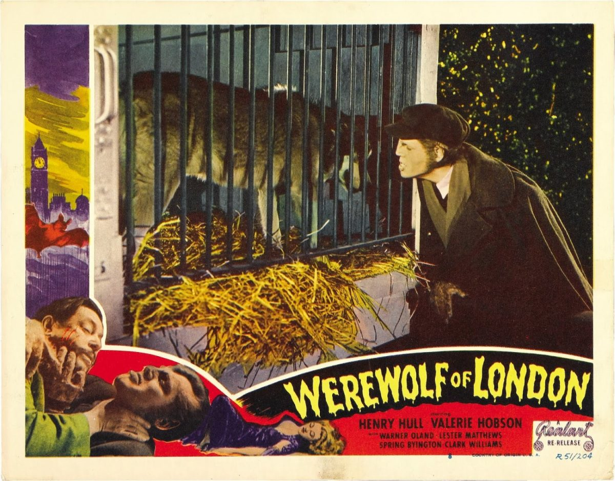 Werewolf of London, Henry Hull, horror, film