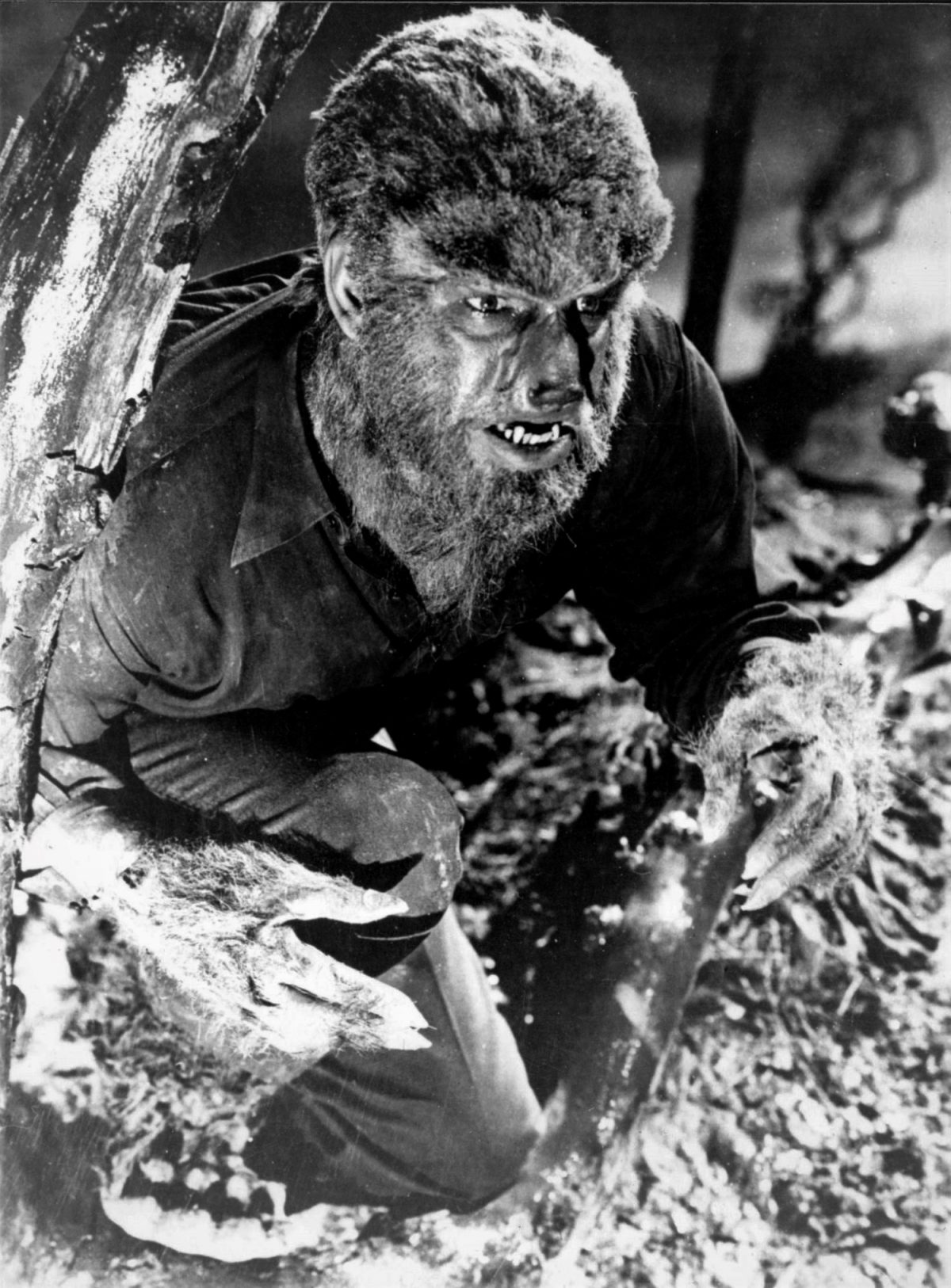 Wolfman, Lon Chaney, werewolf, horror, film