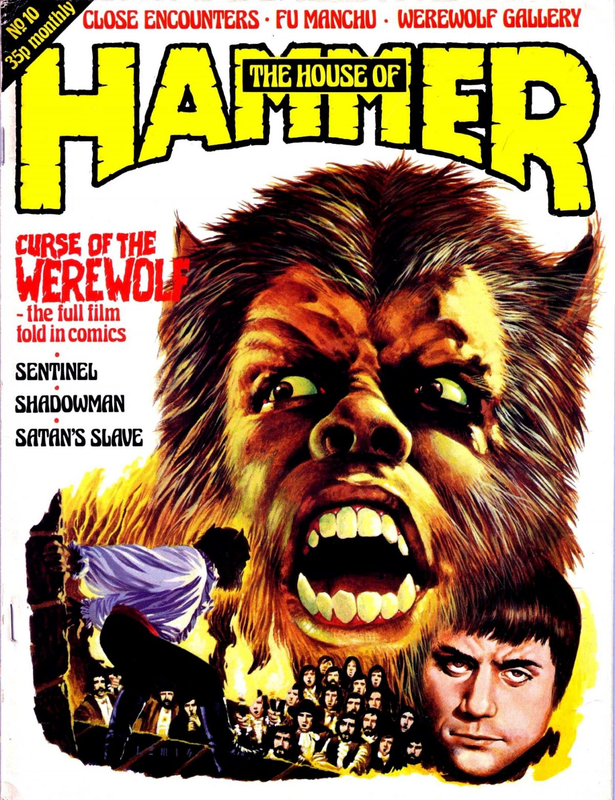 Curse of the Werewolf, Oliver Reed, horror, film