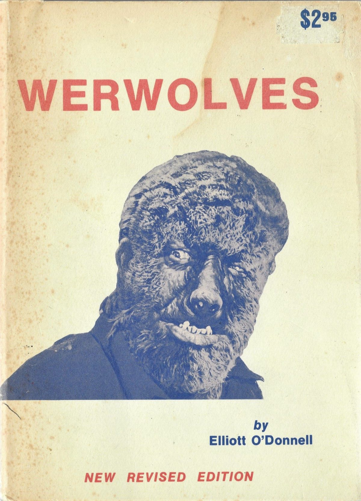 Werwolves, Elliott O'Donnell, book, werewolves