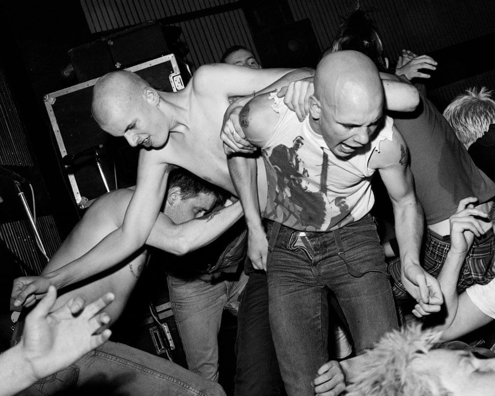 Angelic Upstarts concert, Sunderland, Wearside, 1984 Photograph- Photograph by Chris Killip