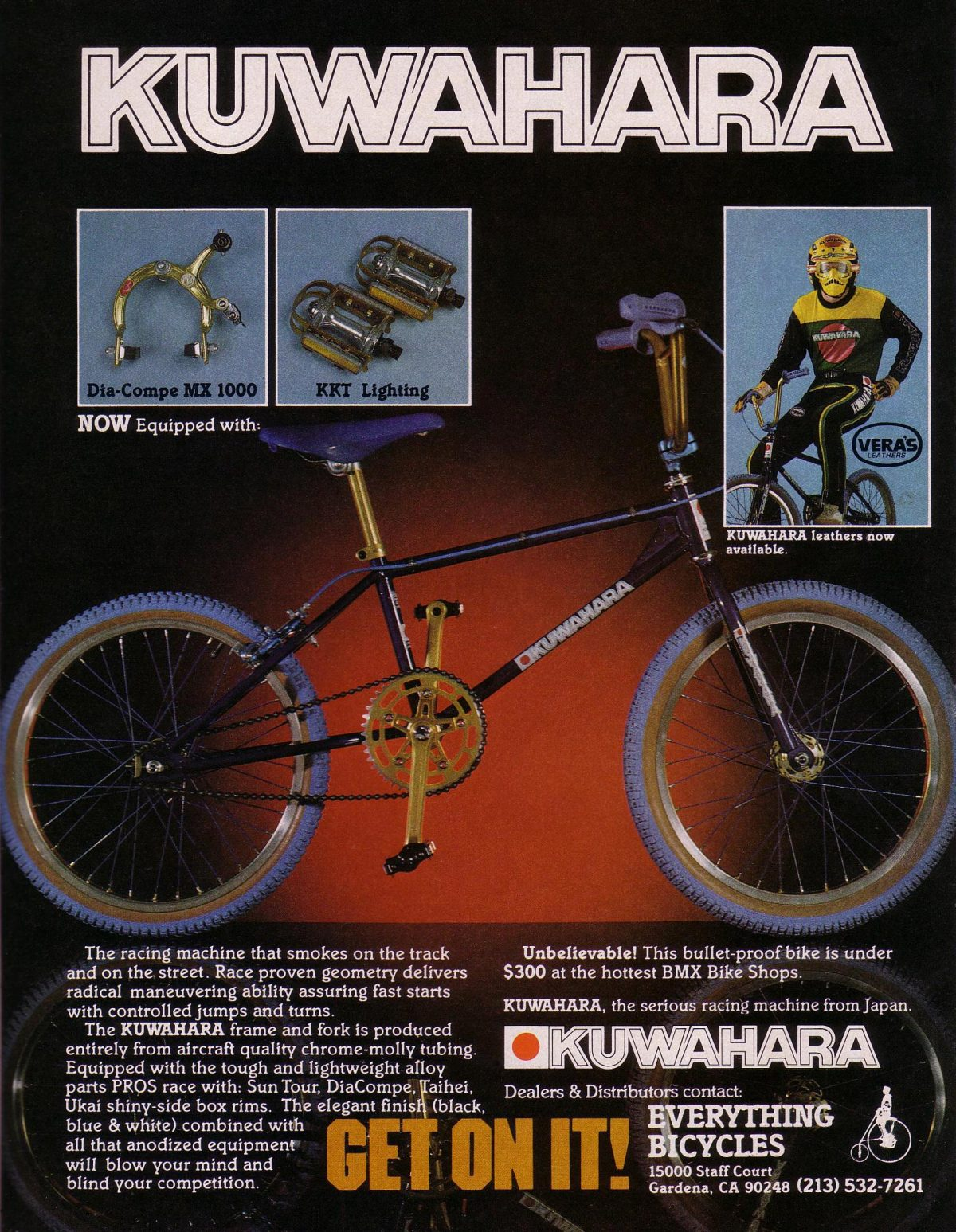 The Totally Rad Fad of 1980's BMX kuwahara