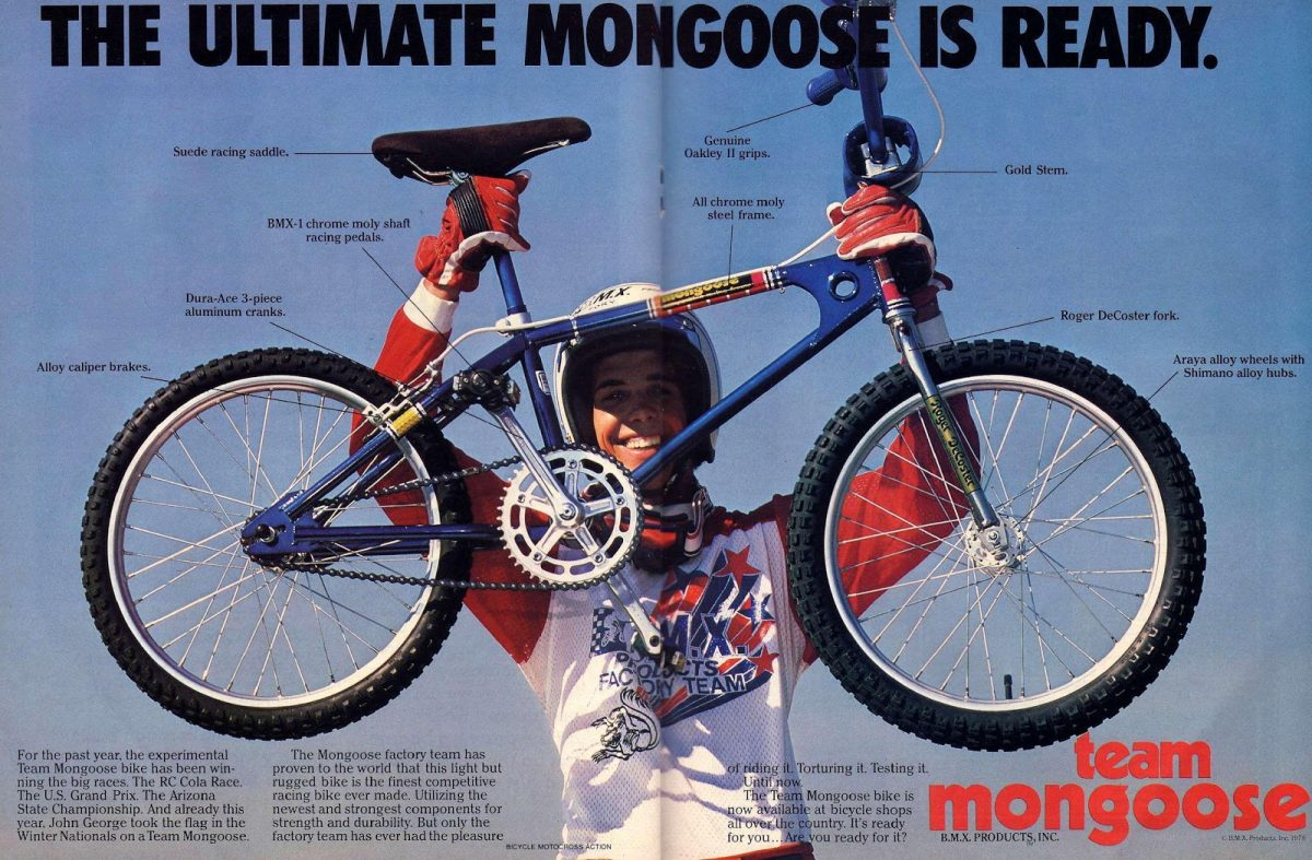 The Totally Rad Fad of 1980's BMX mongoose
