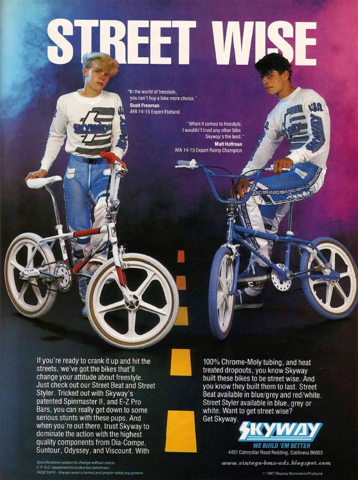 The Totally Rad Fad of 1980's BMX skyway
