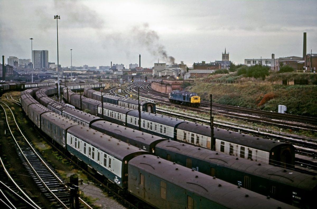 Manchester trains railways 1980s
