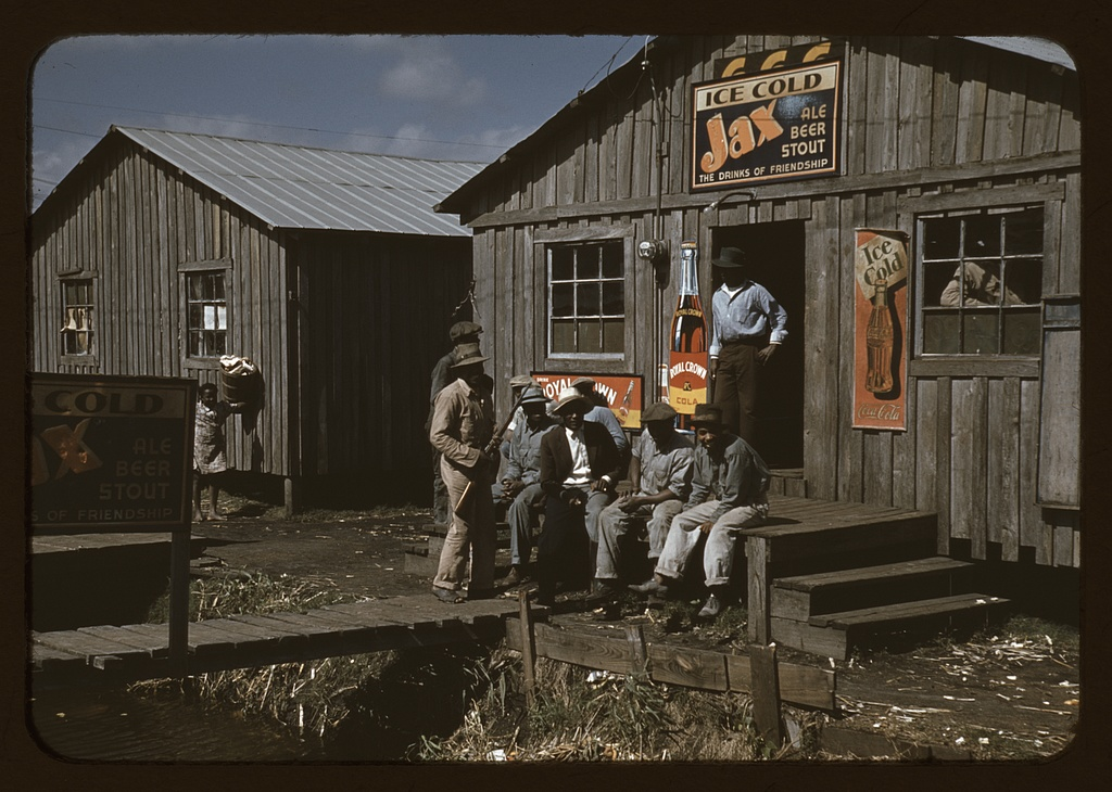 Mississippi cotton juke joint