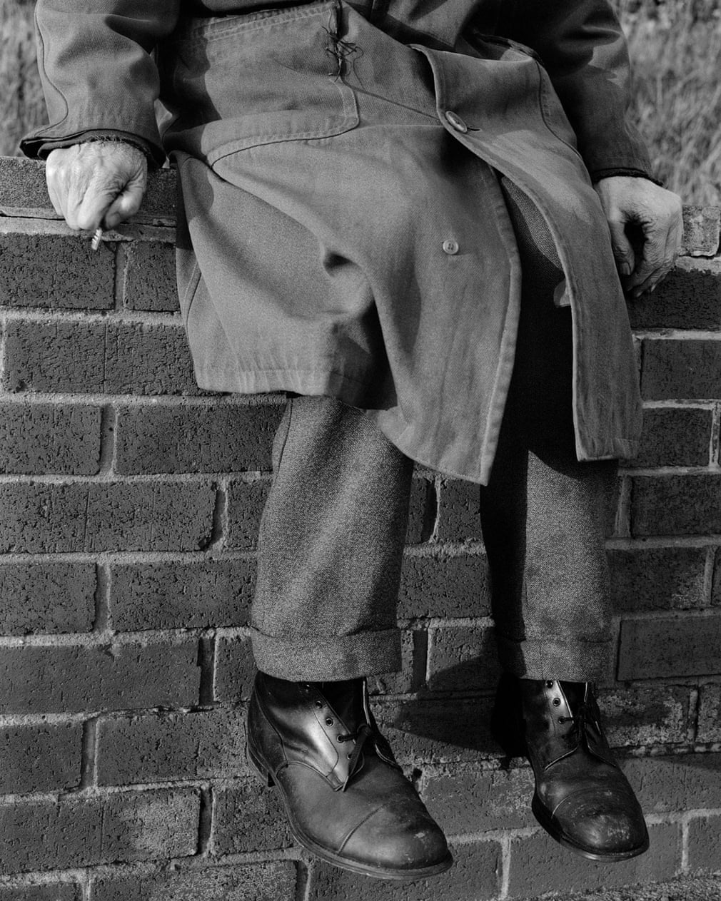 Torso, Pelaw, Gateshead, 1978 Photograph- Photograph by Chris Killip