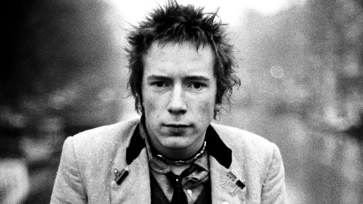Johnny Rotten of The Sex Pistols by Anton Corbijn