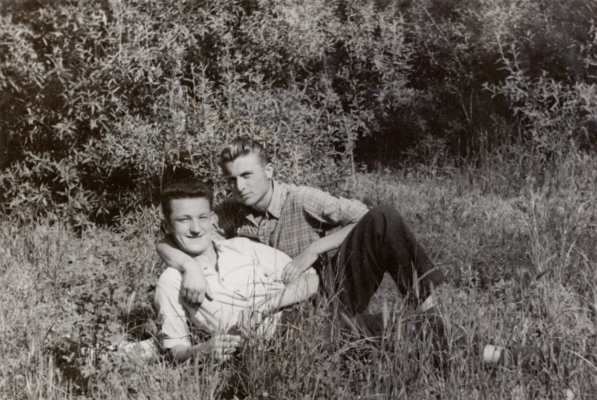 vintage gay snapshots men in love
