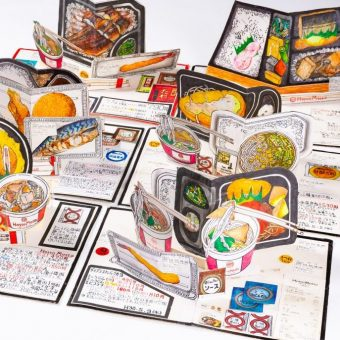 Japanese Artist Itsuo Kobayashi Draws Every Meal He's Eaten for Over 30 Years – Food Is Love