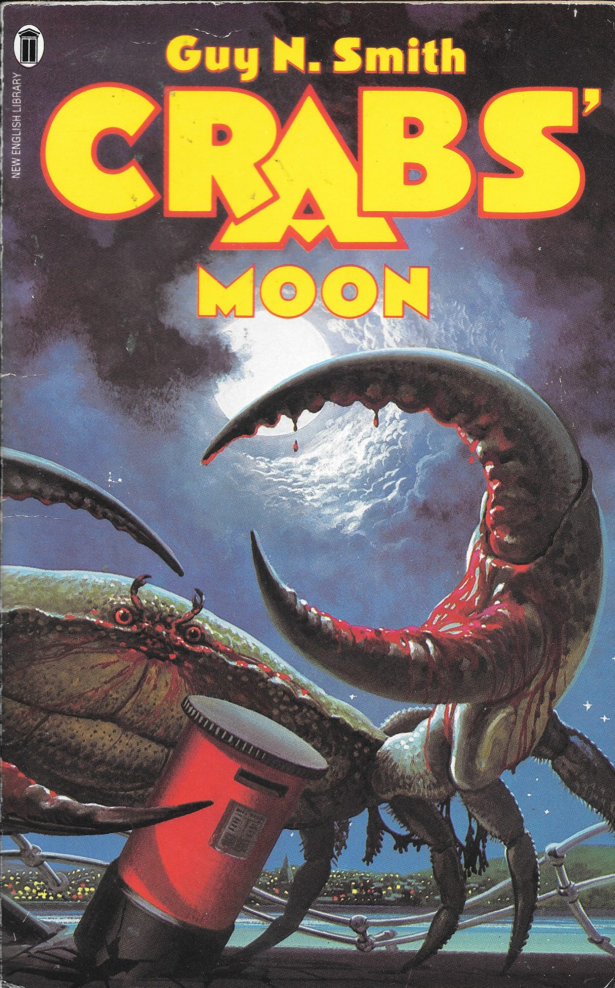 Guy N Smith, horror fictions, horror, books, Crabs Moon