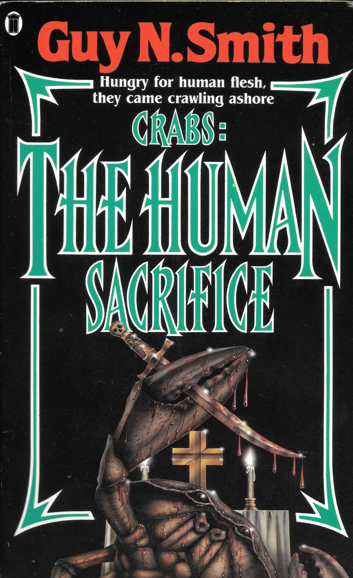 Guy N Smith, horror fictions, horror, books, Crabs The Human Sacrifice