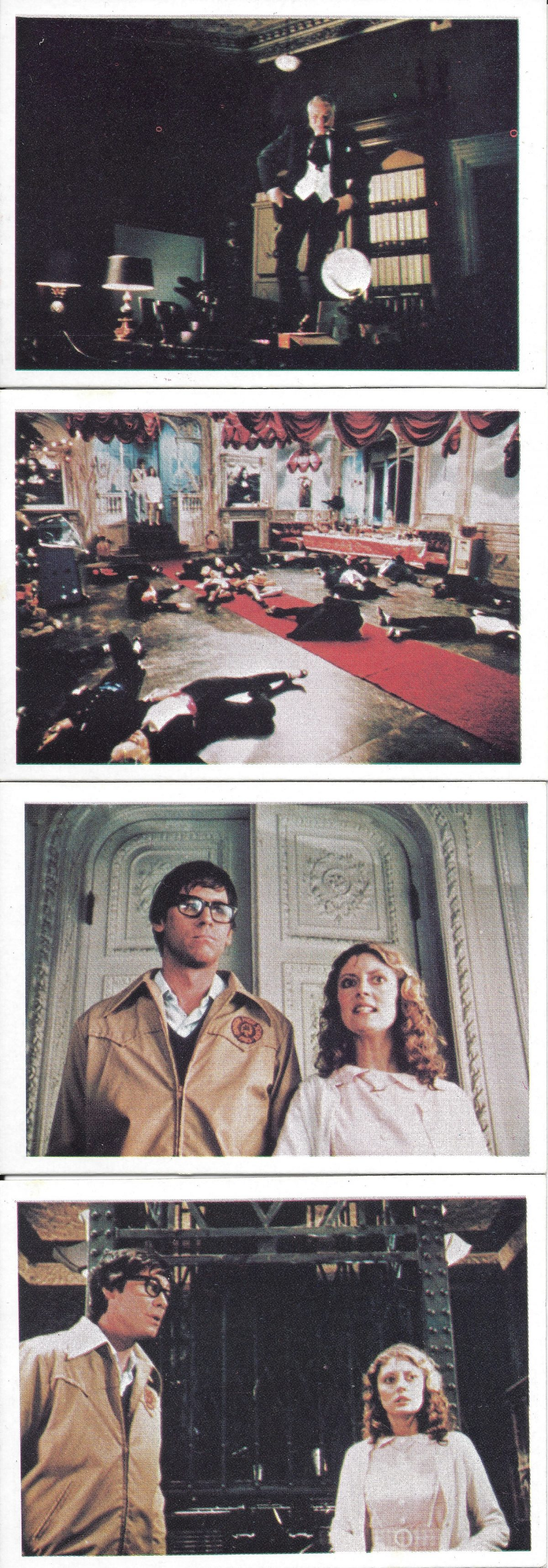 Rocky Horror Picture Show, trading cards, film,