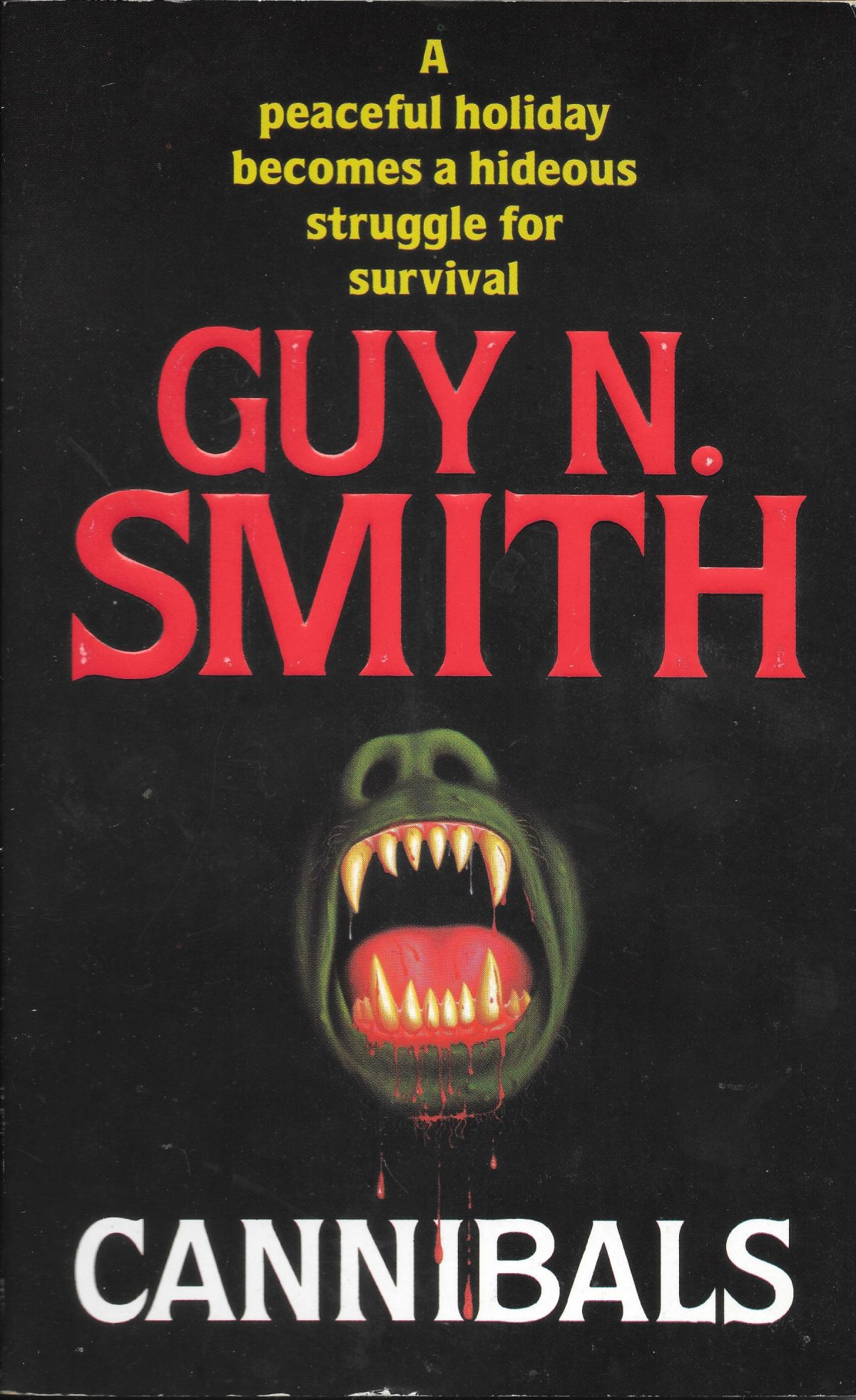 Guy N Smith, horror fictions, horror, books, Cannibals