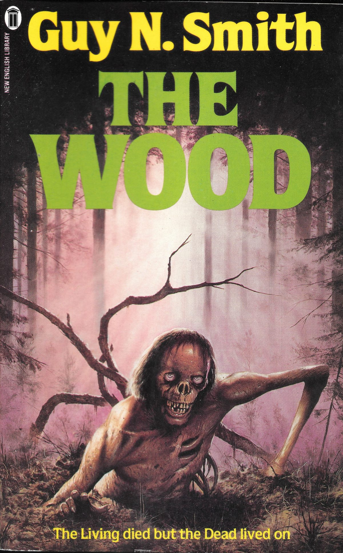 Guy N Smith, The Wood, book, horror fiction, horror