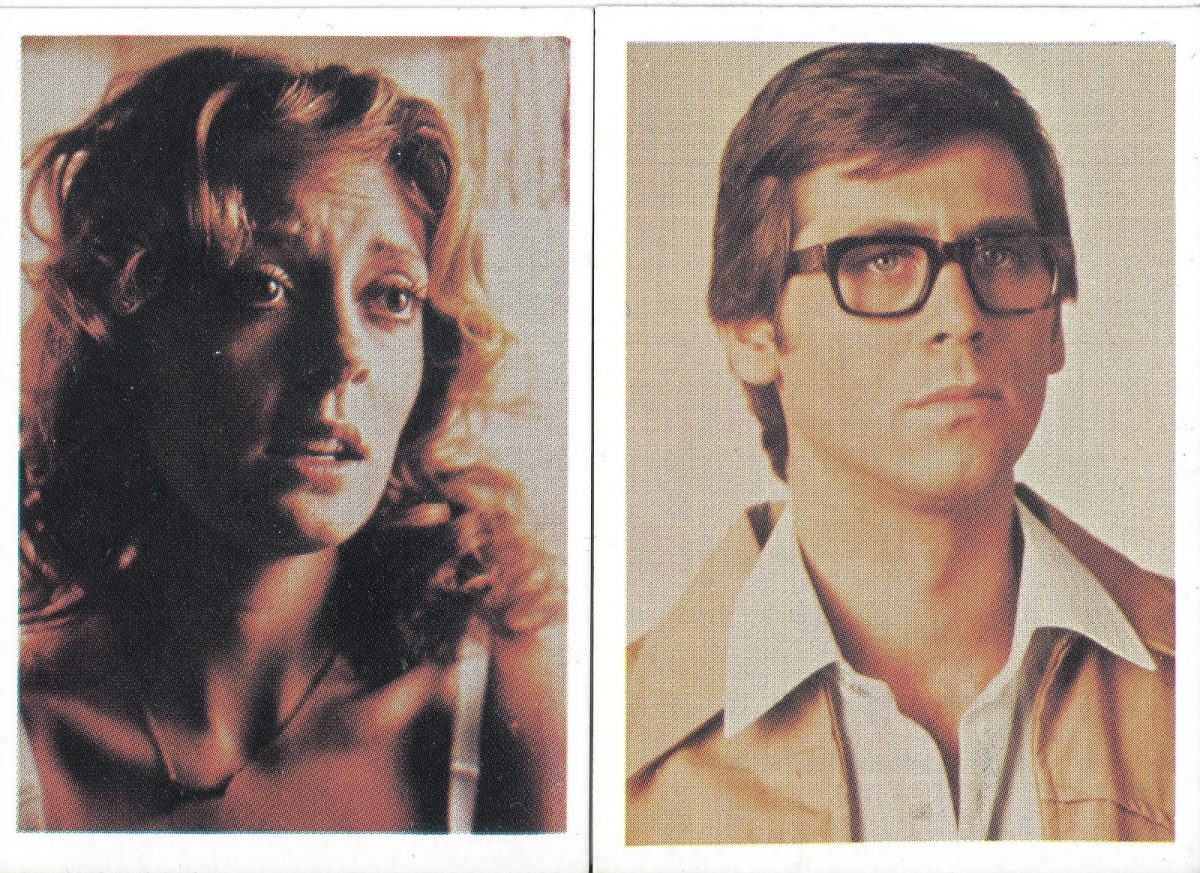 Rocky Horror Picture Show, Susan Sarandon, Barry Bostwick, film, trading cards