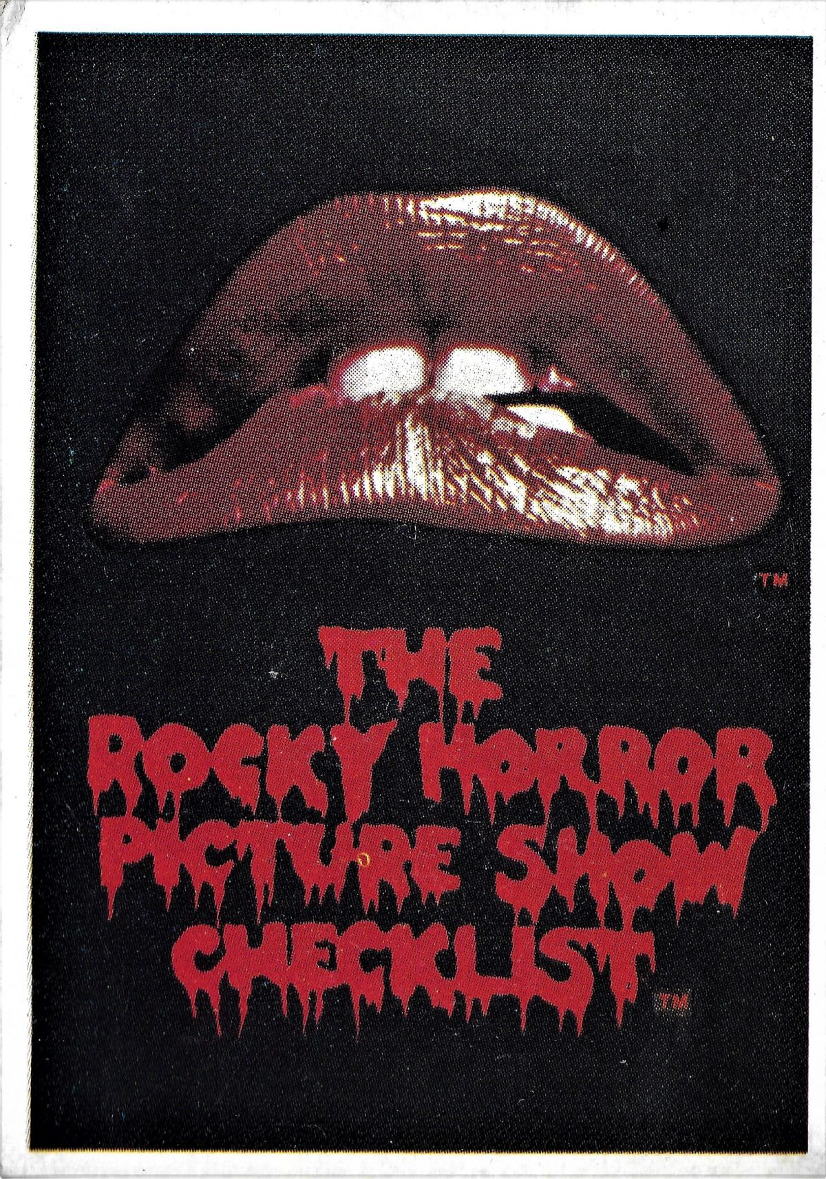 Rocky Horror Picture Show, cards, film,