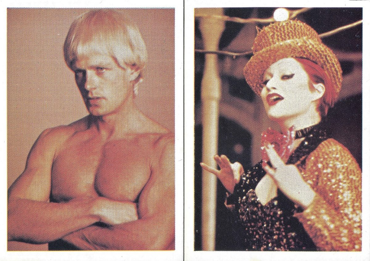 Rocky Horror Picture Show, trading cards, film, Peter Hinwood, Little Nell