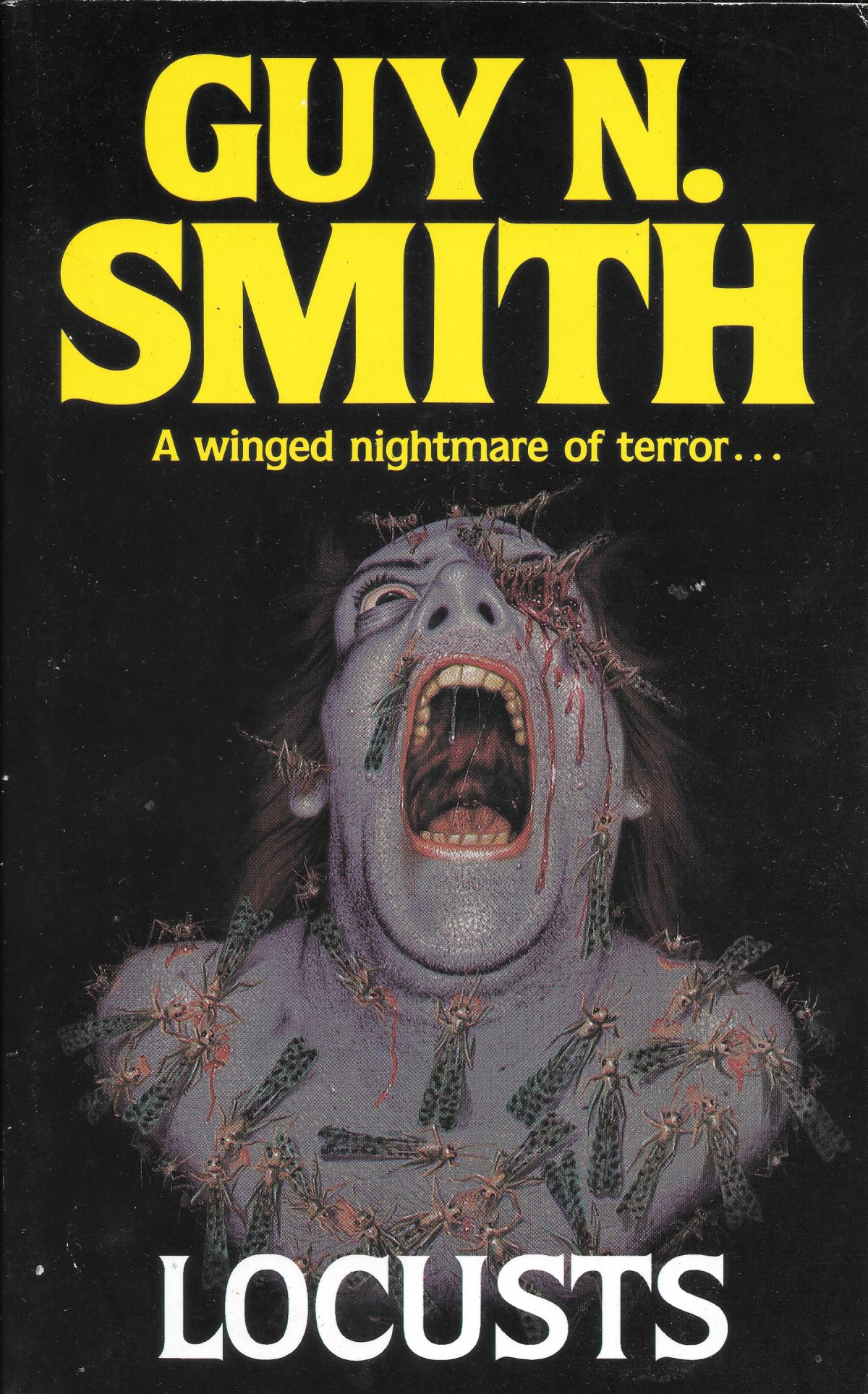 Guy N Smith, horror fictions, horror, books, Locusts