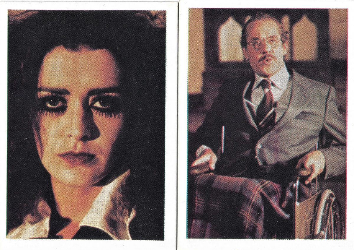 Rocky Horror Picture Show, trading cards, film, Patricia Quinn, Jonathan Adams,