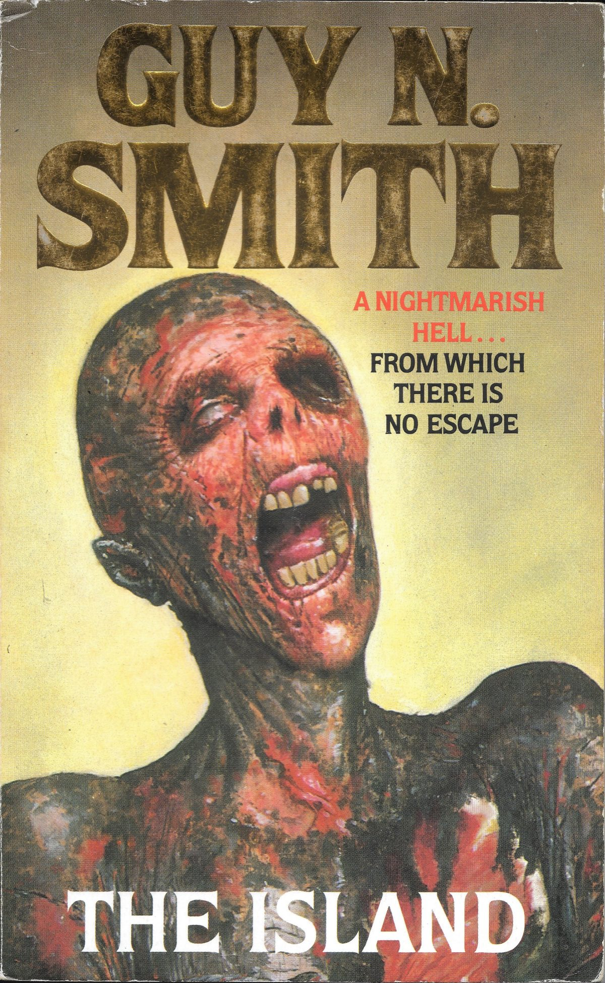 Guy N Smith, horror fictions, horror, books, The Island
