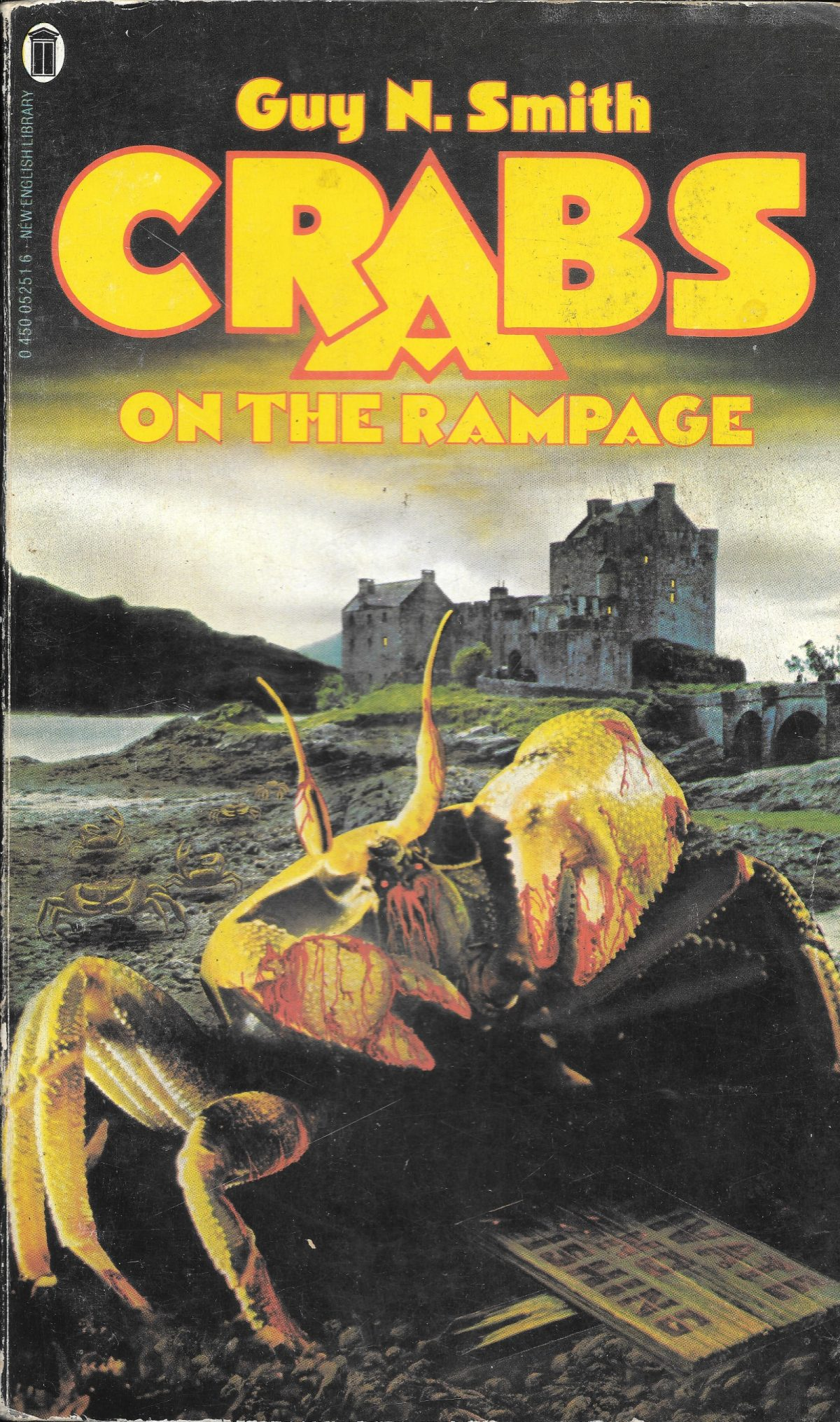 Guy N Smith, horror fictions, horror, books, Crabs on the Rampage