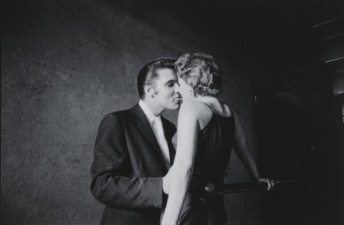 Alfred Wertheimer The Kiss 1956