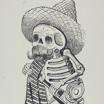 Calaveras: José Posada's Skeletons Celebrate Life, Mock The Elite And Hail Mexico's Day Of the Dead (1880 – 1913)