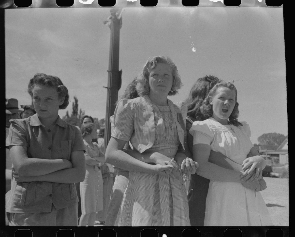 July Fourth Independence Day Vale Oregon 1941 Russell Lee