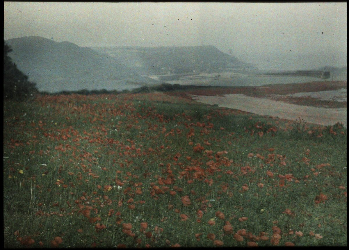 Gustave Gain Color Autochromes Bring The Past To Life