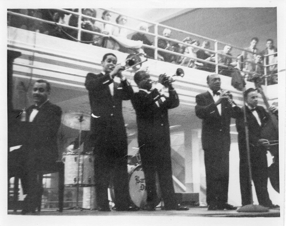 Louis Armstrong And His All-Stars at the Jacob Building, Knoxville, February 1957