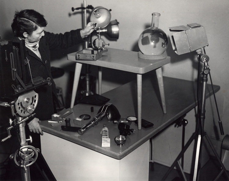 Berenice Abbott science