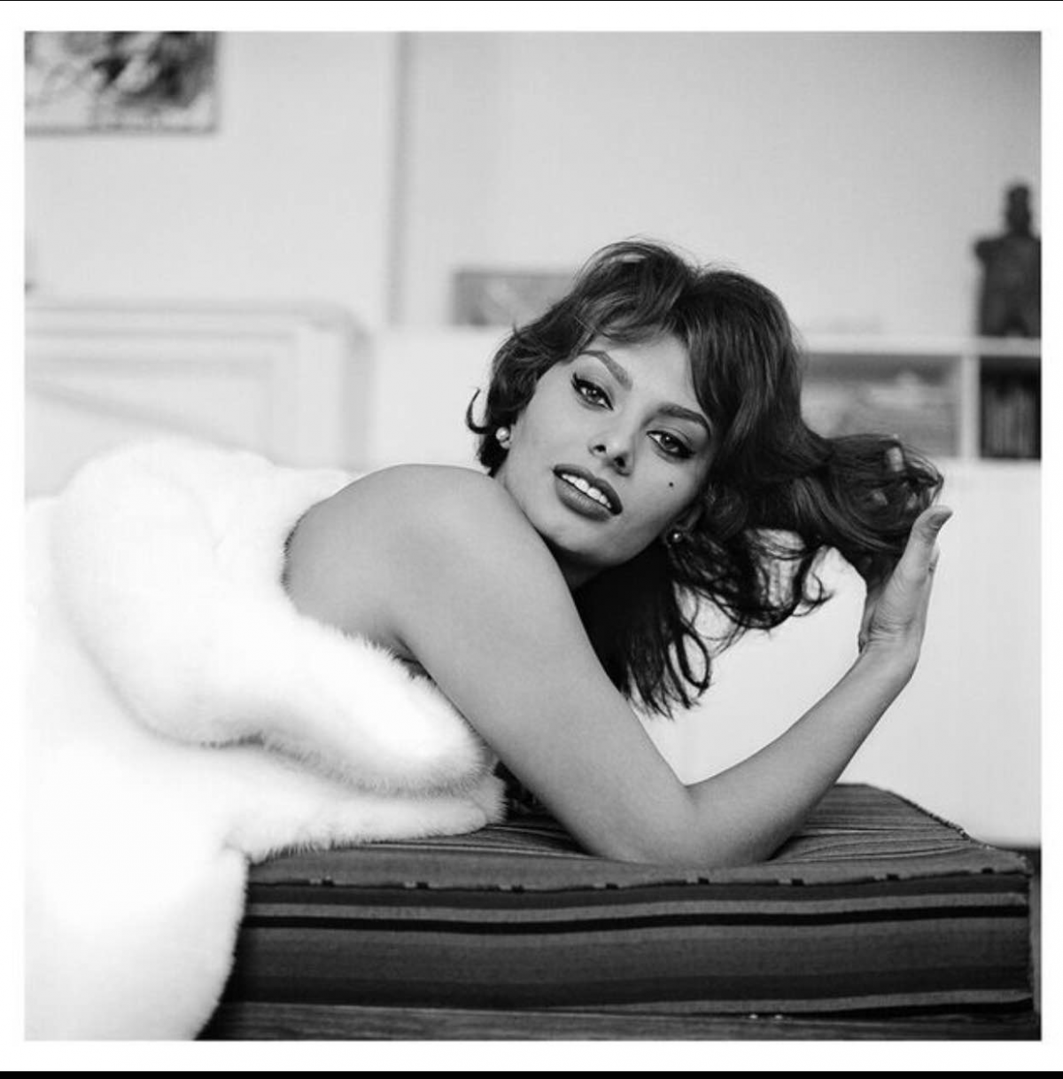Sophia Loren by Fashion and D-Day by Photographer Tony Vaccaro