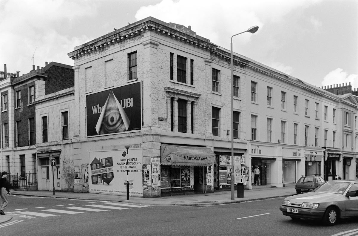 Anderson St, Kings Road, Chelsea, Kensington and Chelsea, 1988