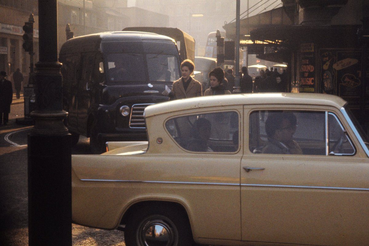 Bob Hyde Photographs 1960s London