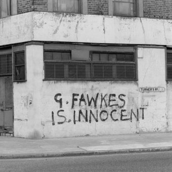 Guy Fawkes Is Innocent – Graffiti In 1980s London