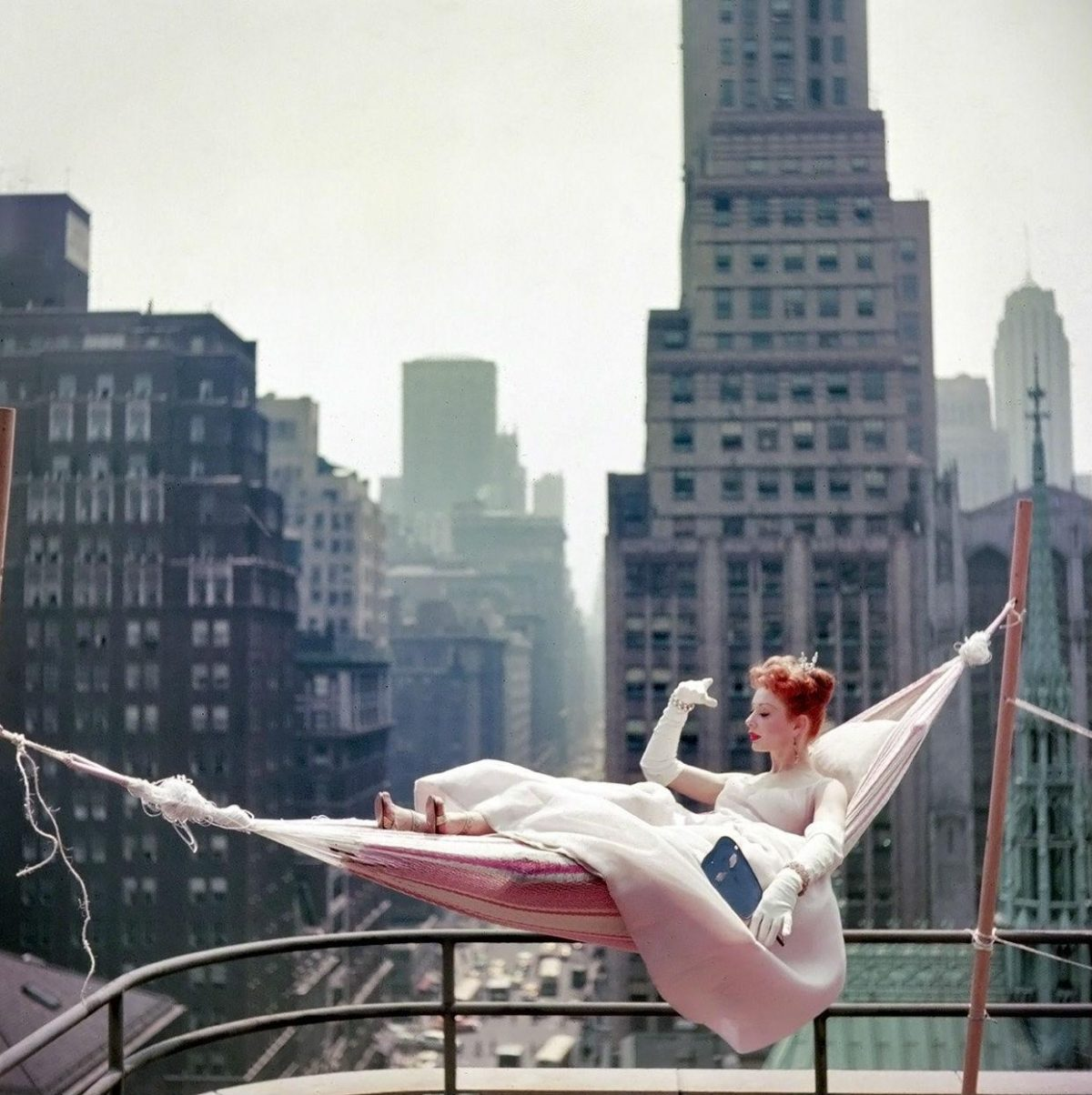 Gwen Verdon, New York City, NY, 1953 by Fashion and D-Day by Photographer Tony Vaccaro