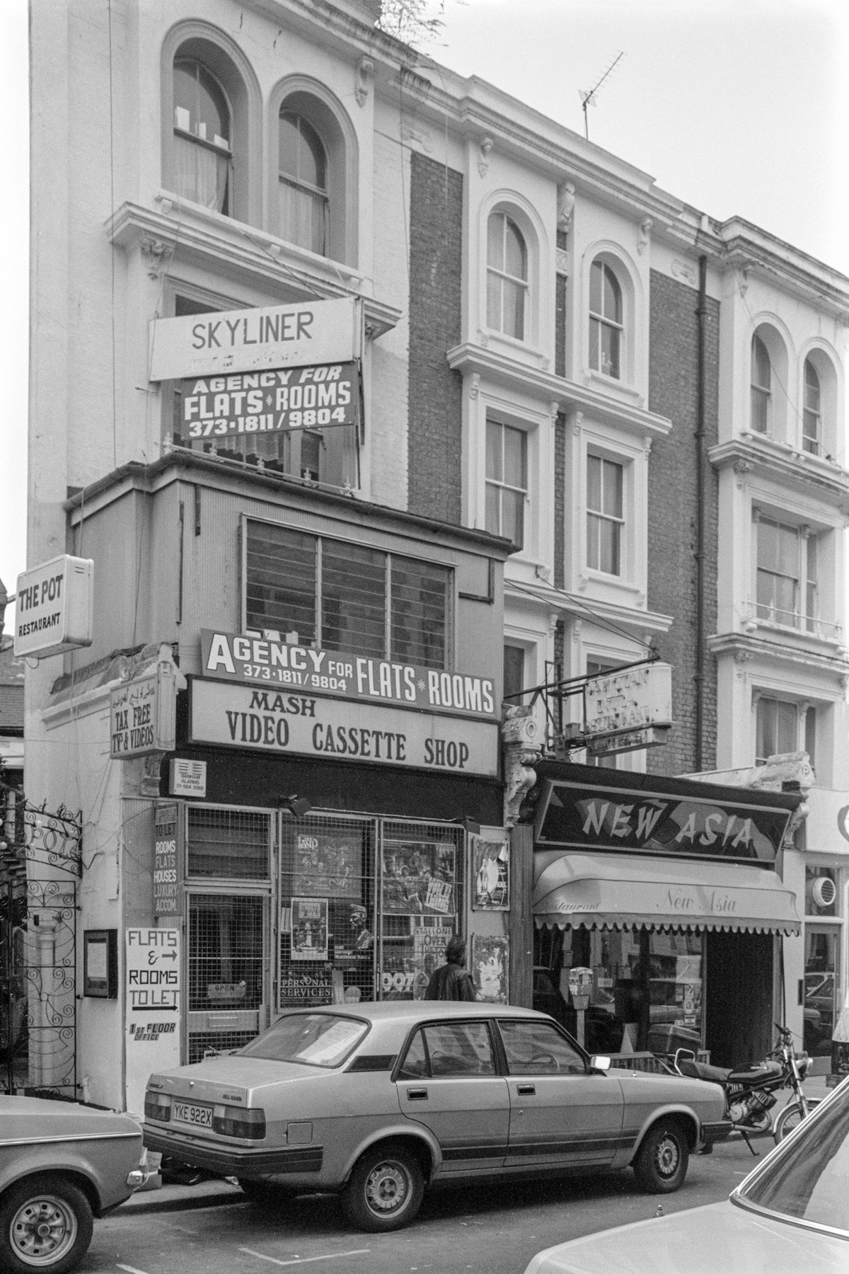 London Hogarth Rd, Earl's Court, Kensington & Chelsea, 1987