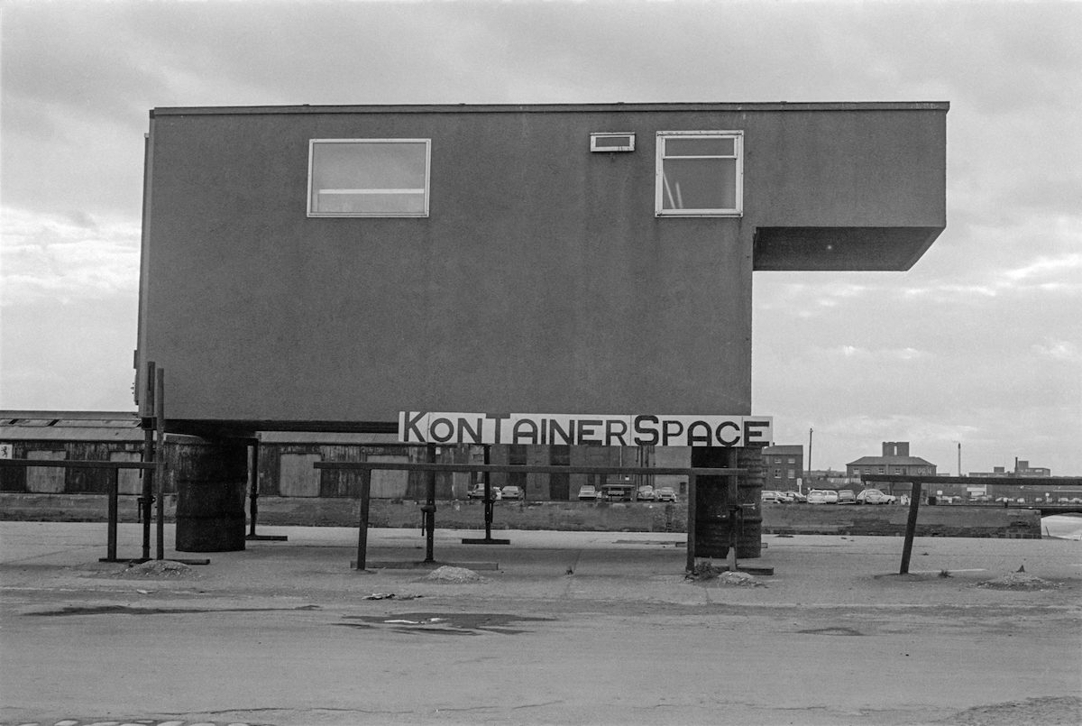 Kontainer Space, Princes Dock, Hull 1979
